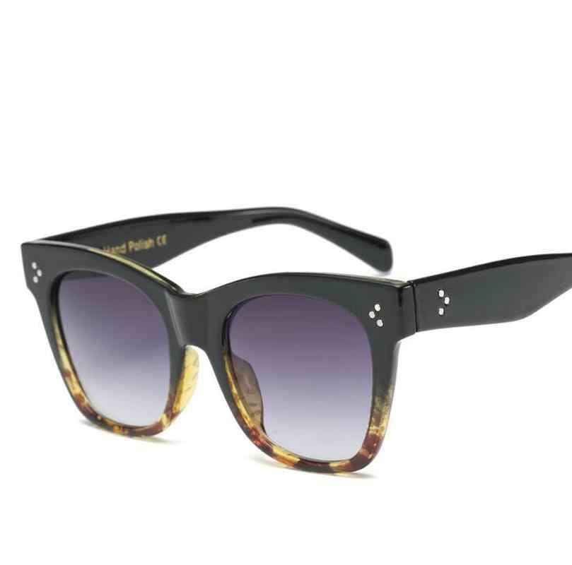 """Темные очки """"кошачий глаз"""" для женщин модные солнцезащитные очки Женские винтажные Роскошные брендовые черные маленькие кошачьи очки Oculos Feminino солнцезащитные очки сексуальные UV400"""
