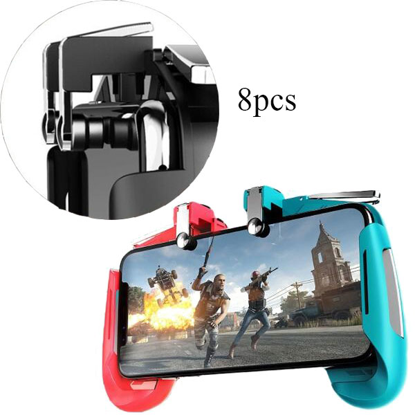 8pcs replacement rubbers for pubg game joystick