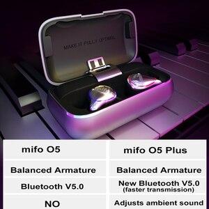 Image 5 - Mifo O5 عالمي حدود بلوتوث 5.0 متوازن حديد سمّاعات أذن لاسلكيّة مقاوم للماء رياضة بلوتوث صغير سماعة أذن للهاتف