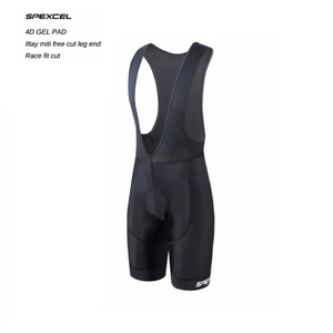 SPEXCEL high quality classic bib shorts race bicycle bottom Ropa Ciclismo bike pants 4D gel pad Italy Silicon grippers at leg(China)