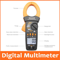 digital pincers multimeter BM2000B AC and DC current 2000A 2000V large current clamp current meter mine|Microscope Parts & Accessories| |  -