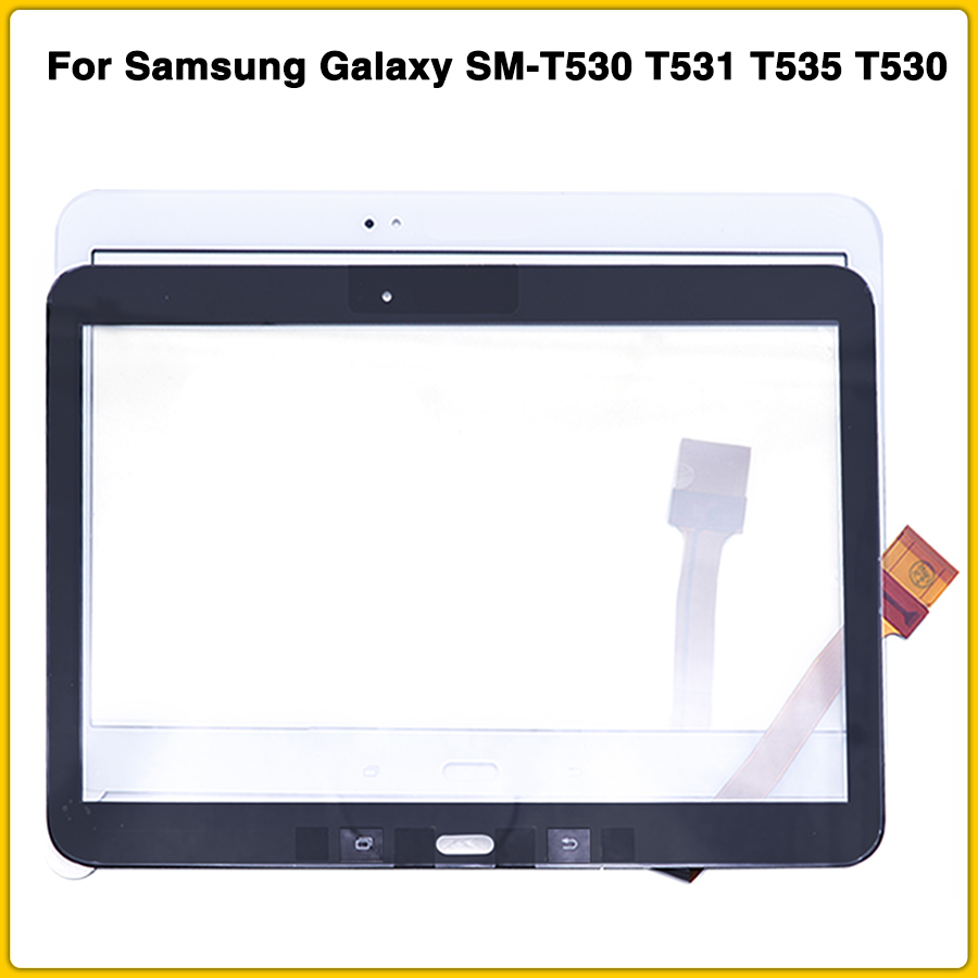 New Touchscreen For Samsung Galaxy Tab 4 SM-T530 T531 T535 T530 Touch Screen Panel Digitizer Sensor Front Glass Lens
