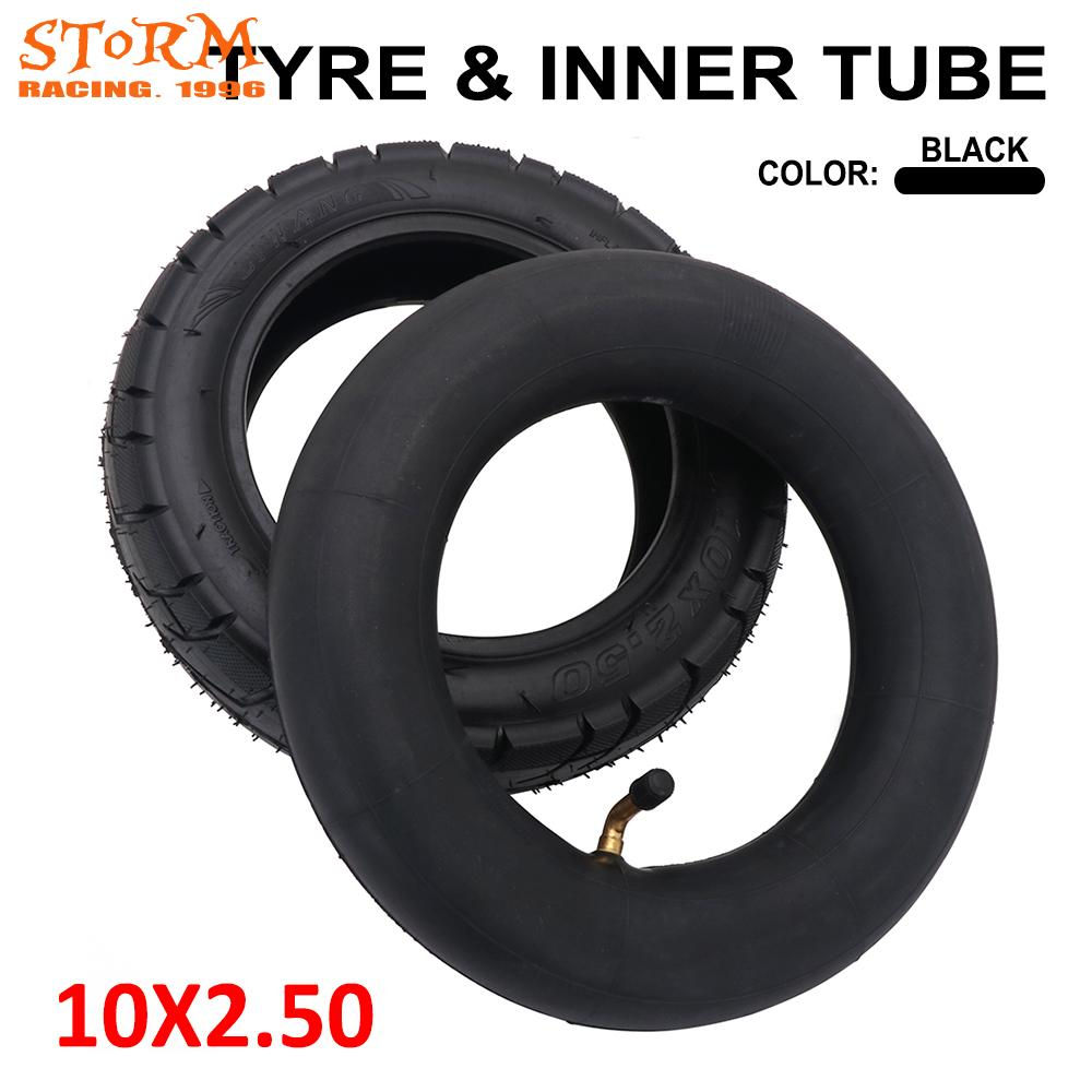<font><b>10*2.5</b></font> 10 Inch Inflatable Inner Tube Outer Tyre Pneumatic 10x2.50 <font><b>Tire</b></font> For Gas Electric Scooters E-bikeBalance Drive Bicycle image