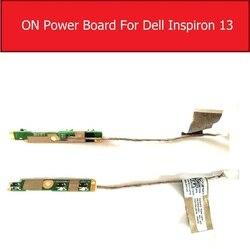 Ligar/desligar placa de alimentação para dell inspiron 13 7368 5368 7368 5368 5378 7378 7579 interruptor de alimentação placa botão + substituição do cabo 03g1x1