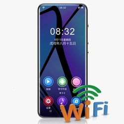 Yescool M200 portable smart AI android WiFi sports Bluetooth thin video download APP full touch screen media FM MP4 music player