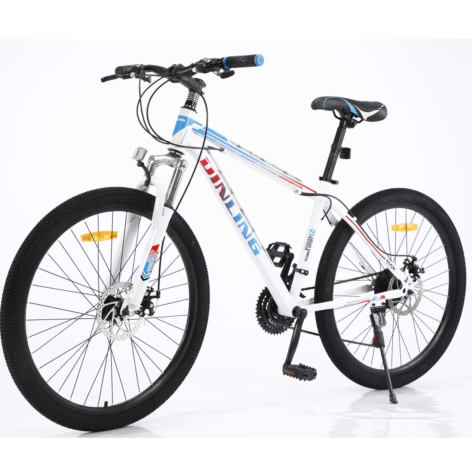 26Inch Mountain Bike 21 Speed Shift Left 3 Right 7 Frame Mountain Bicycle for Adults and Teens (US in Stock)