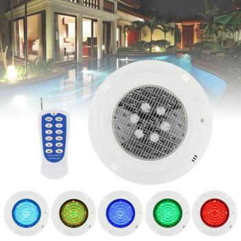 цены 6 LED RGB Underwater Lamp Multi-Color 12V 6W RGB+Remote Controller Outdoor Underwater Lighting Waterproof IP68 for Swimming Pool