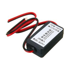 1pcs 12V DC Power Auto Car Reserve Rear View Camera Relay Capacitor Filter Rectifier For Car Backup Camera