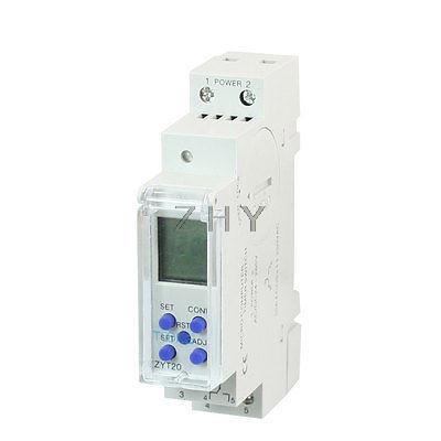 ZYT20 3V CR2032 bouton interrupteur de commande de relais de minuterie alimenté par batterie 10A