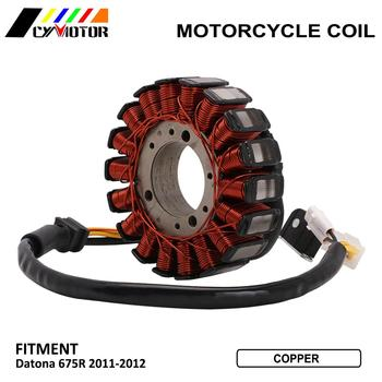 Motorcycle Magneto Engine Stator Generator Alternator Charging Coil Parts For DUCATI Datona 675R 675 R 2011 2012