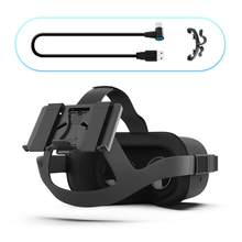 Powerbank Fixing Bracket Battery Holder for Oculus Quest 2/1 or Vive Deluxe Audio Strap VR Headset Game Accessories