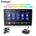 Android 9.0 Car Radio 2 din 9'/10' android car radio DSP 2.5D IPS Screen GPS NAVIGATION WIFI Bluetooth MP5 Player Front&Rear CAM