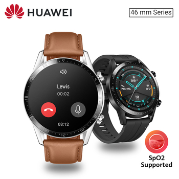 Huawei Watch GT 2 46mm Smart watch SpO2 Blood Oxygen Bluetooth Smartwatch 5.1 14 Days Battery Life Phone Call For Android iOS 1