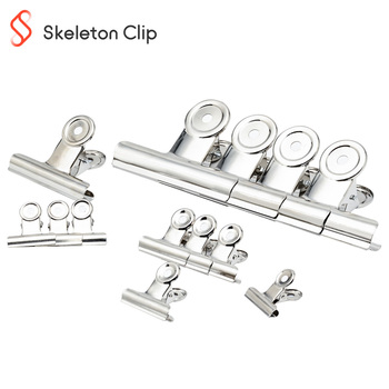 2020 New product good quality sliver bulldog clip for paper 76mm 3pcs