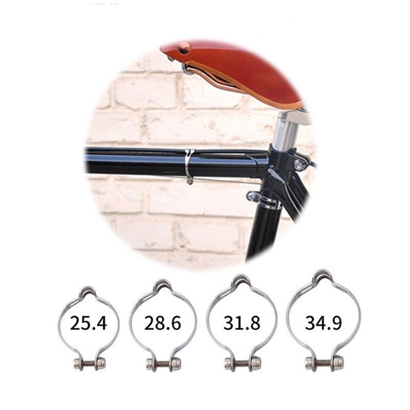 Высокое качество нержавеющая сталь, каучук на подкладке тормозной кабель направляющий зажим MTB велосипед дорожный велосипед P зажимы монта...
