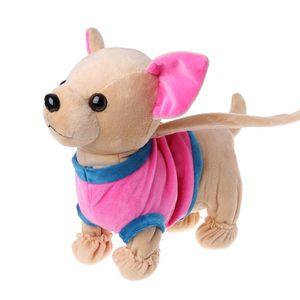 Image 5 - جديد الإلكترونية الحيوانات الأليفة روبوت الكلب سستة المشي الغناء لعبة تفاعلية مع حقيبة للأطفال أطفال هدايا عيد 95AE