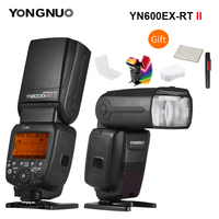 YONGNUO YN600EX RT II 2.4G Wireless HSS 1/8000s Master Flash Speedlite for Canon Camera as 600EX RT YN6000 EX RT II Speedlite