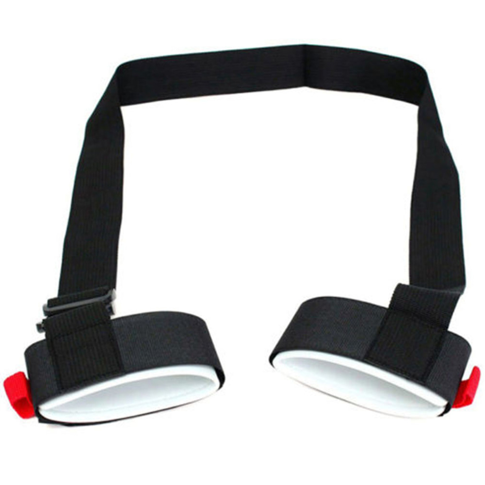 Skiing Bags Adjustable Skiing Pole Shoulder Hand Carrier Lash Handle Straps Porter Hook Loop Protecting For Ski Snowboard