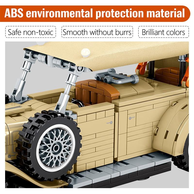 SEMBO VINTAGE CAR Building Blocks