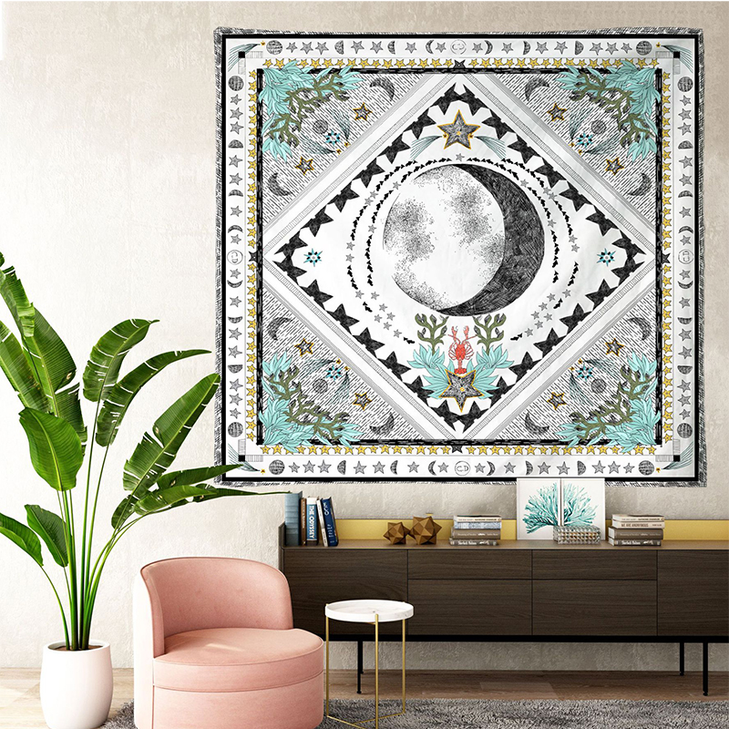 Image 4 - Tarot Tapestries Sun Star Moon Hanging Tapestry Hippie Wall  Hanging Blanket Wall Carpet Yoga Mat Home DecorTapestry   -