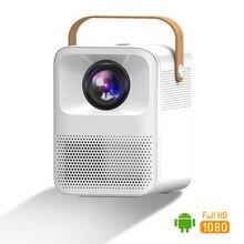 Proyector de vídeo Full HD 1080p, con Bluetooth Android, Wifi, para cine en casa, teléfono móvil, Mini Proyector LED 4K