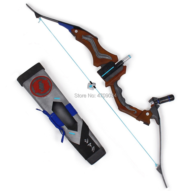 Overwatch Hanzo Scion Weapon Cosplay Replica Bow Prop