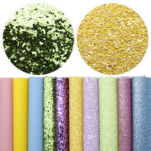 Sheets Faux-Leather Glitter for DIY Earrings 10pcs A-Set 1yc8343 Assorted Lychee-Grain