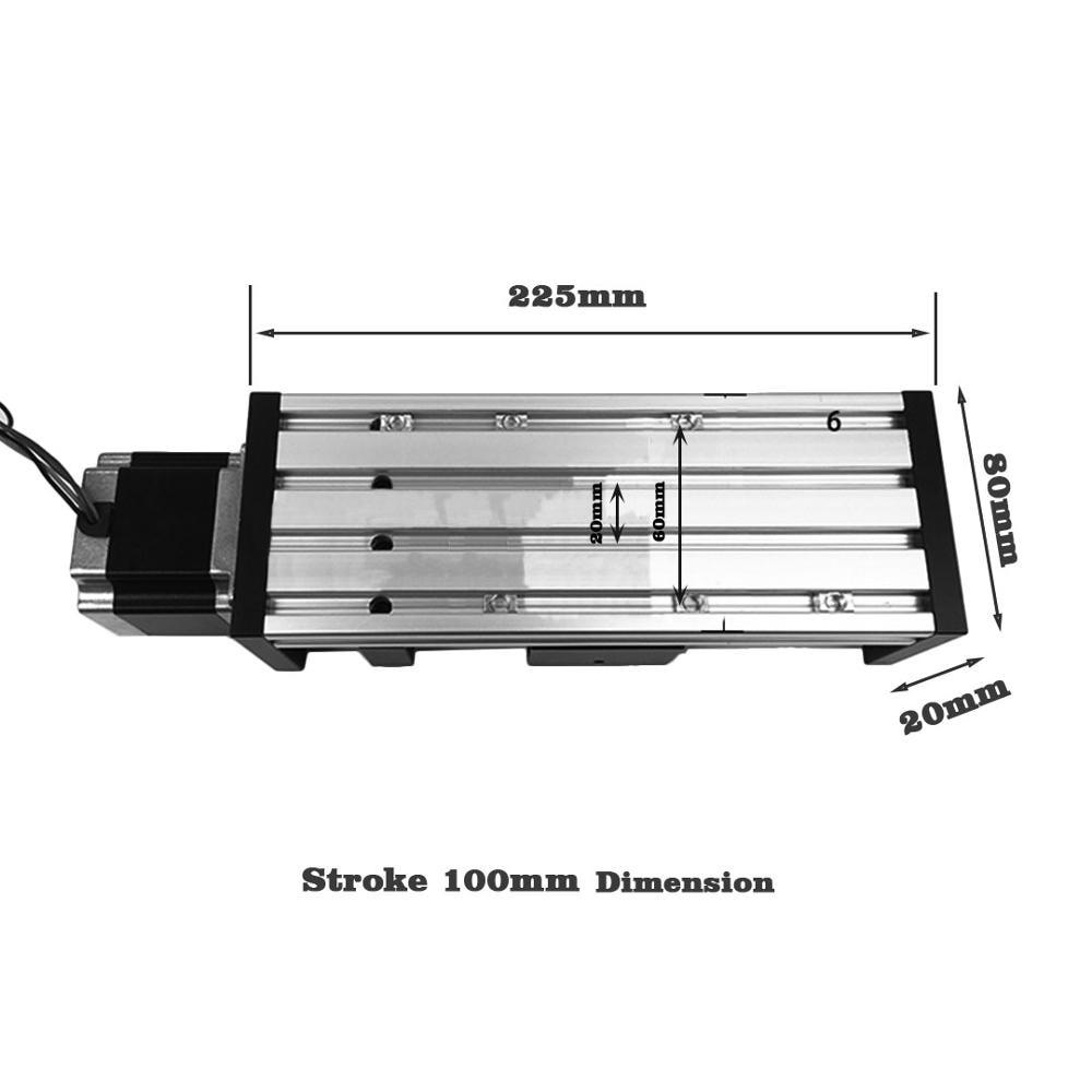 estagio trilho movimento slide mesa bola parafuso 02