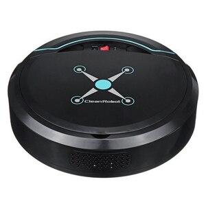 Image 1 - Robô aspirador de pó automático, limpador automático para casa elétrico recarregável varredura inteligente de sujeira de chão pó cabelo