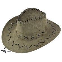 Unisex Adult West Cowboy Hat Mongolian Hat Grassland Sunshade Cap Summer outdoor men and women cowboy hat cuffia visiera new