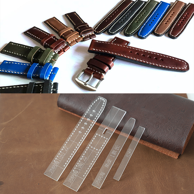 Leather Craft Tools Transparent Acrylic Watch Strap Template Home DIY Supplies Watch Strap Mold Men And Women