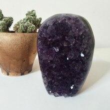 Haute qualité Uruguay pierre améthyste géode cristal quartz cluster décor à la maison affichage améthyste pierre naturelle