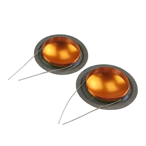 Image 2 - Ghxamp 25,9mm 4ohm Hochtöner schwingspule Seide + Titan Membran Höhen Reparatur Teile Gleichen Seite Runde Kupfer Draht 1 pairs