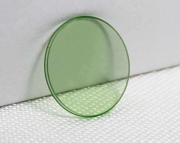 Il trasporto Libero 1pc di Alta Qualità Vetro Minerale per Rlx Verde Milgauss 116400, 116400GV con Logo 6 ore