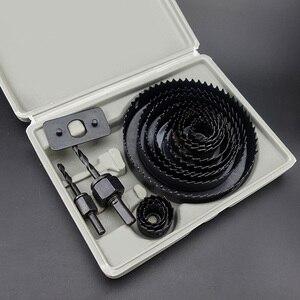 Image 3 - Ensemble de 13 cloches pour le perçage de trous, de 19 à 127mm, profondeur: 20mm, pour le perçage du PVC, du bois, des plaques de platre