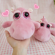 25cm cute pink hippo plush toy animal figurine childrens gifts children toys