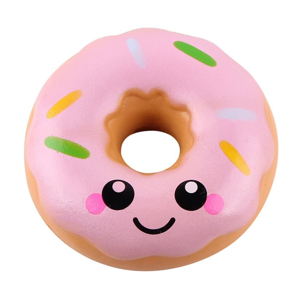 Squshy-Popcorn-Toys Hamburger Squish Stress Relief Milkshake Gift Slow Rising 1PC Jokes img2