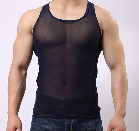 ..Hot Sales Men Undershirt Vest Sleeveless Casual Style
