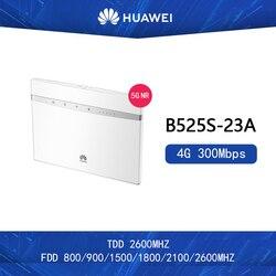 Desbloqueado Huawei B525s-23a 300Mbps 4G LTE Advanced CAT6 Wireless AC 1000M LAN Wifi Router 2 uds antena