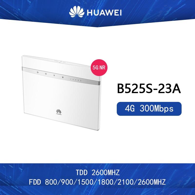 Unlocked Huawei B525s-23a 300Mbps 4G LTE Advanced CAT6 Wireless AC 1000M LAN Wifi Router Free 2pcs Antenna