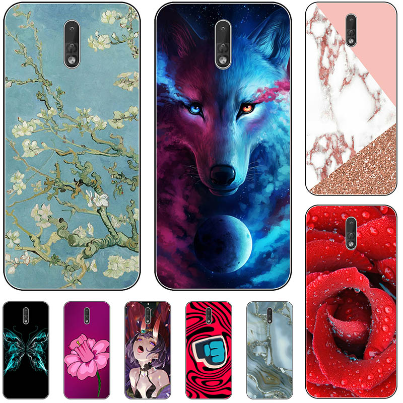 For Coque Nokia 2.3 Case Cover Soft Cartoon TPU Silicone Phone Case Nokia 2.3 TA-1206 TA-1211 TA-1214 TA-1194 Nokia2.3 Case