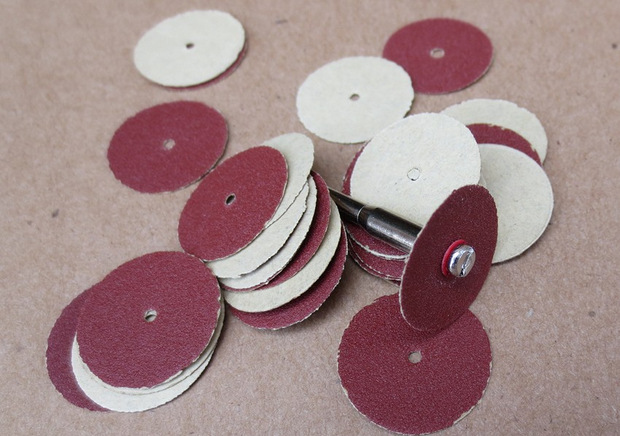 Electric Grinding Only 20 Size SNAD Paper Disk Sandpaper Circle SNAD Paper Disk Easy To Use, Simple, Low Cost