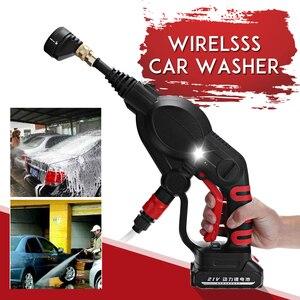 Image 1 - 20V 2.6MPa Cordless Senza Fili Tenuto In Mano Ad Alta Pressione Lavatrice Cleaner per la Pulizia Auto Lavaggio Auto per la Pistola Ugelli Tip 6m di Tubo Filtro
