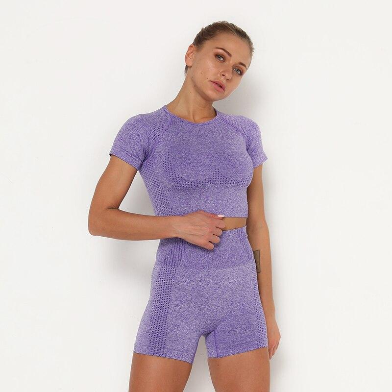 Hec45f02bd75a4926b2b5136327802285S Kaminsky 14 Colors High Waist Seamless Leggings For Women Solid Push Up Leggins Athletic Sweat Pants Sportswear Fitness Leggings