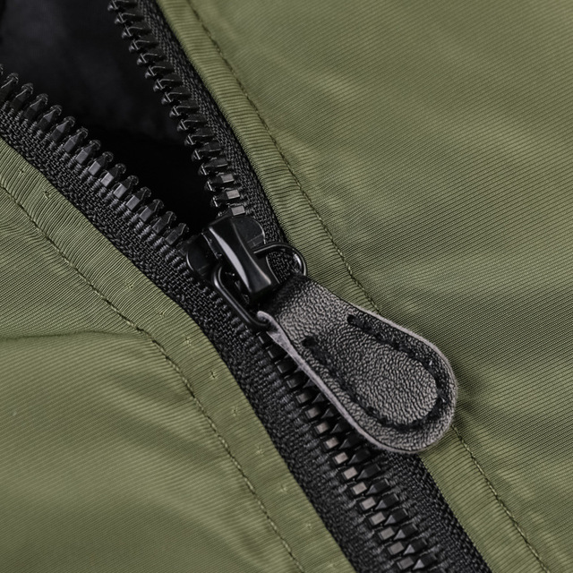 Ανδρικό μπουφάν φθινοπωρινό στρατιωτικού στυλ αντιανεμικό σε μεγάλα μεγέθη
