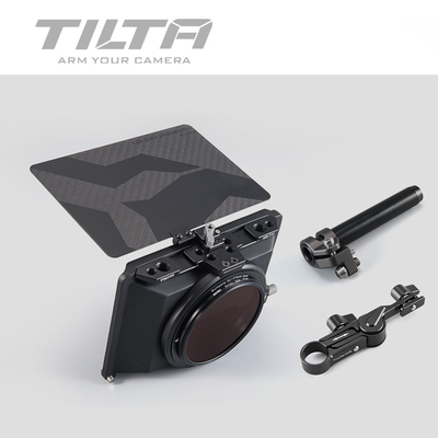 Instock Tiltaing Mini Matte Box for DSLR mirrorless style cameras Tilta lens hood accessories title=