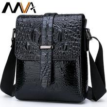 MVA Alligator Bag Men's Shoulder/Crossbody Bag