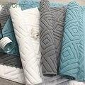 Luxus jacquard verdickt Baumwolle bad matte-Saugfähigen boden handtuch für hotel,SPA-bad teppich, weichen anti-rutsch bad Matte und Teppich
