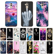 For Huawei Mate 20 Lite SNE-LX1 Case 6.3'' Fashion silicone Soft TPU Cute Back Cases for Huawei Mate20 Lite Phone Cover Coque(China)