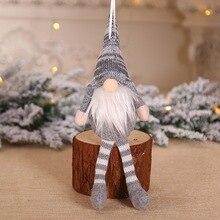 2019 Merry Christmas Ornaments Christmas Gift Santa Claus Snowman Tree Toy Doll Hang Decorations For Home Enfeites De Natal ZA рождественские украшения christmas stocking 7 enfeites
